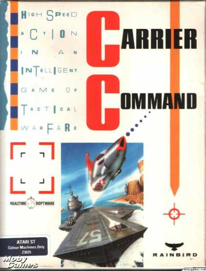 Atari ST Games - Carrier Command