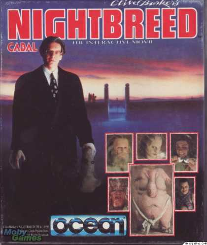 Atari ST Games - Clive Barker's Nightbreed: The Interactive Movie