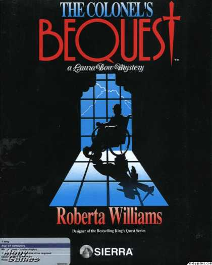 Atari ST Games - The Colonel's Bequest