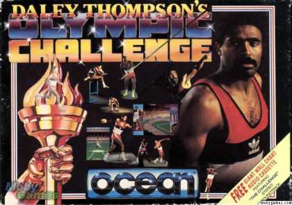 Atari ST Games - Daley Thompson's Olympic Challenge