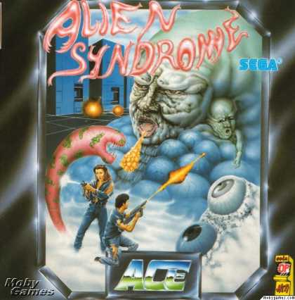 Atari ST Games - Alien Syndrome