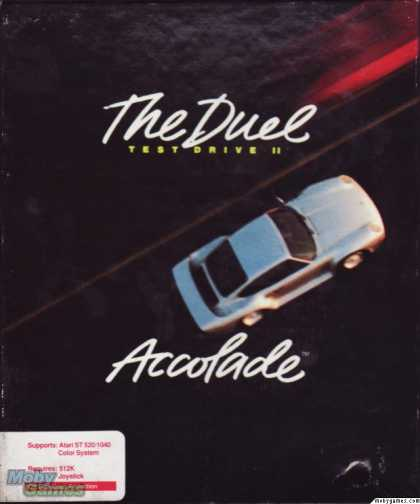 Atari ST Games - The Duel: Test Drive II