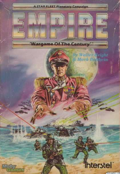 Atari ST Games - Empire: Wargame of the Century