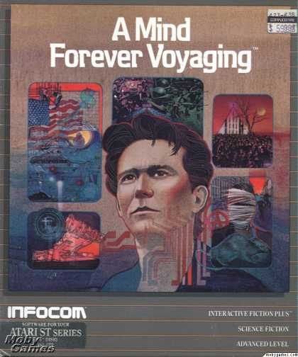 Atari ST Games - A Mind Forever Voyaging