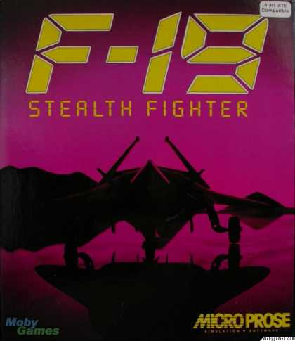 Atari ST Games - F-19 Stealth Fighter