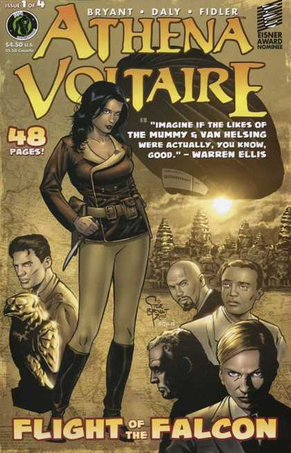 Athena Voltaire 1 - Owl - Knife - Blimp - People - Toolbelt