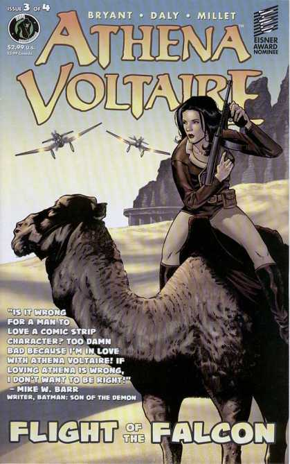 Athena Voltaire 3 - Bryant - Daly - Millet - Flight Of The Falcon - Camel