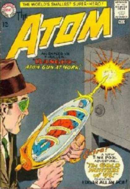 Atom 12 - The Worlds Smallest Super-hero - Ray - Blast - Man - Safe - Murphy Anderson