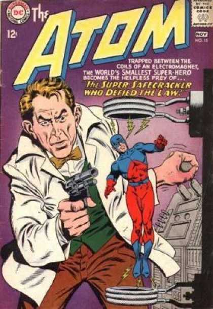 Atom 15 - Comics Code Authority - Dc - 12 Cents - November - Gun - Murphy Anderson