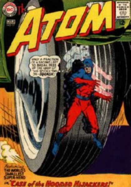 Atom 17 - Superhero - Shrink - Car - Squash - Tyre
