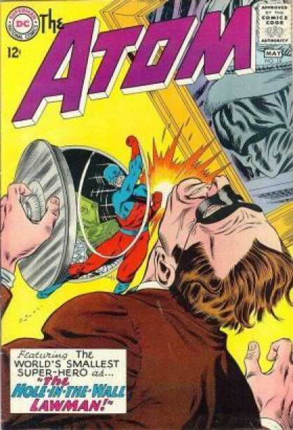 Atom 18 - Thief - Fighting - Costume - Superhero - Hole-in-the-wall Lawman - Murphy Anderson