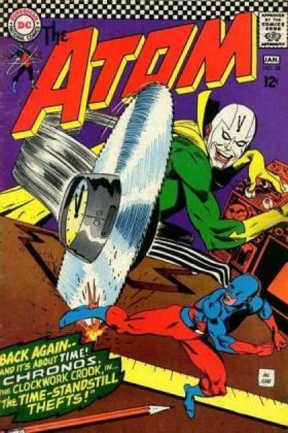 Atom 28 - Superhero - Hound - Mad Scientist - Action - Crazy