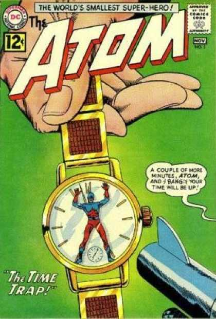 Atom 3 - The Worlds Smallest Super-hero - The Time Trap - Watch - Gun - Trapped - Murphy Anderson