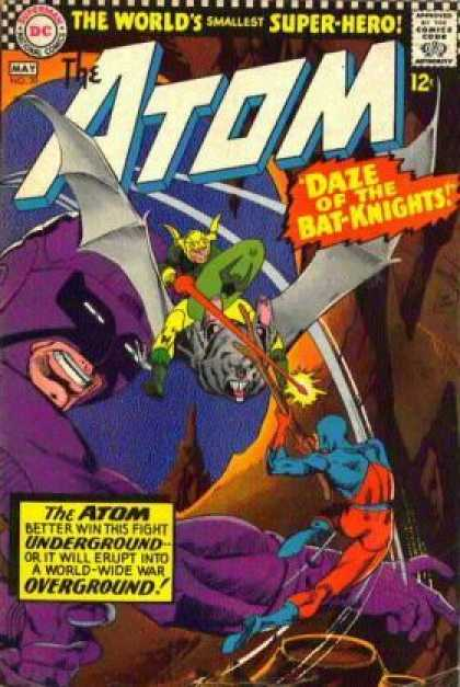 Atom 30 - Dc - Superman - National Comics - Approved By The Comics Code Authority - Daze Of The Bat-knights