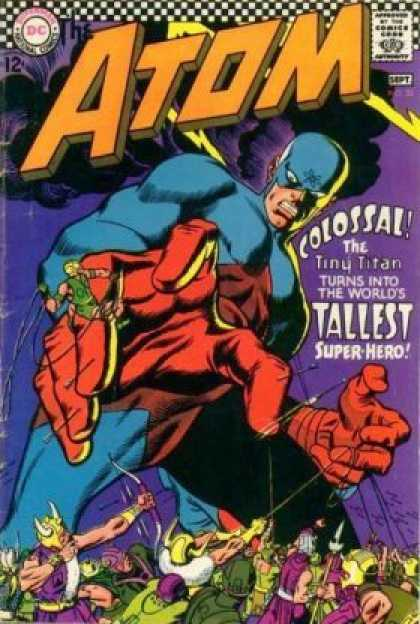 Atom 32 - Dc Comics - Tiny Titan - Colossal - Worlds - Largest Superhero