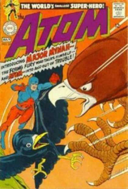 Atom 37 - Super-hero - Major Mynah - Raven - Hawk - Claws