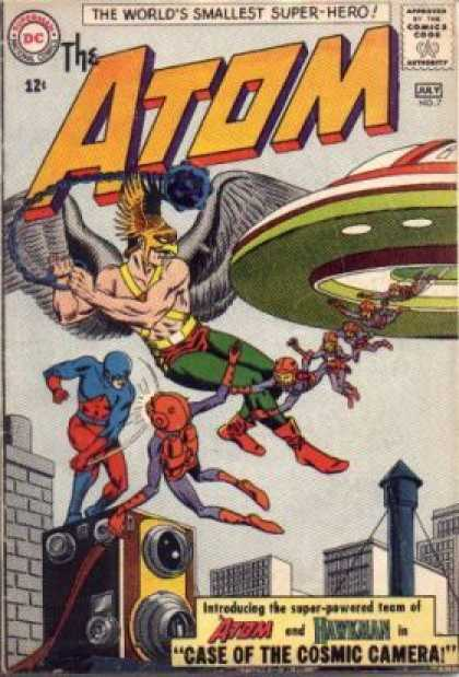 Atom 7 - Cosmic Camera - Space Ship - Aliens - Wings - Eagle - Murphy Anderson