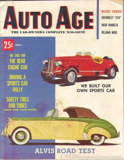 Auto Age - August 1953