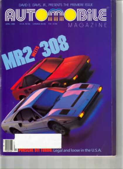 Automobile - April 1986