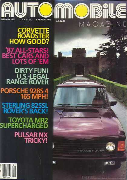 Automobile - January 1987