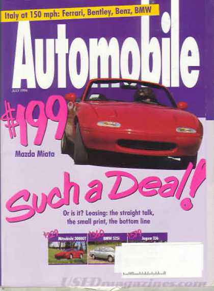 Automobile - July 1994