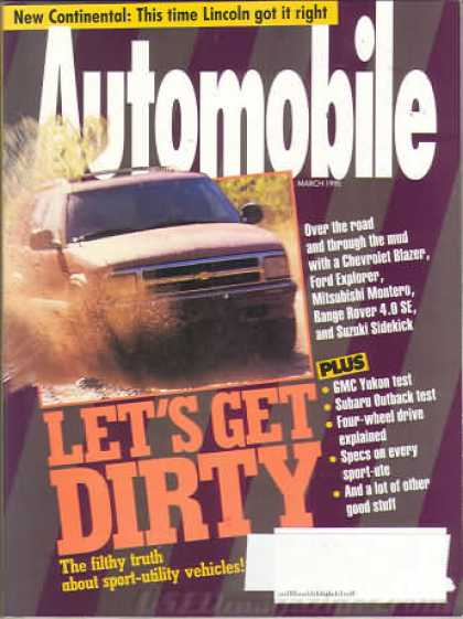 Automobile - March 1995