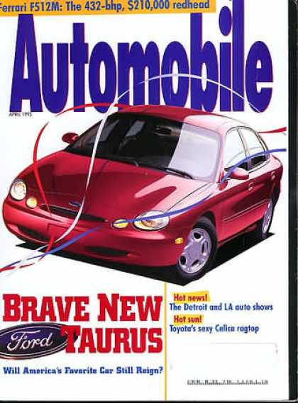 Automobile - April 1995