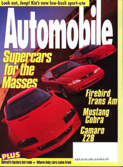 Automobile - June 1995