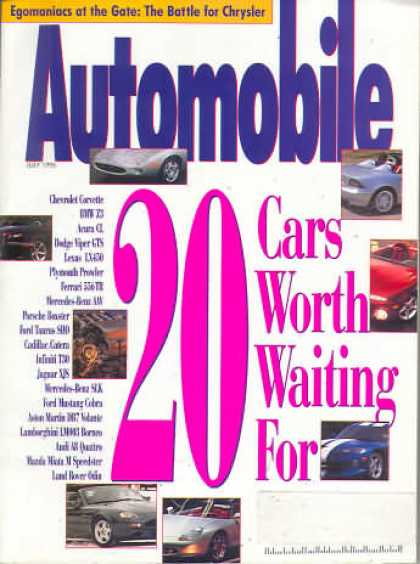 Automobile - July 1995