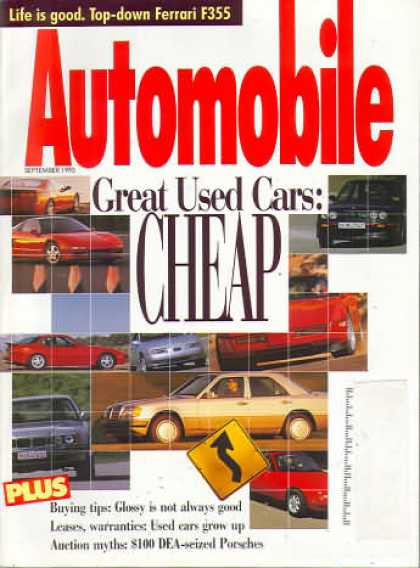 Automobile - September 1995