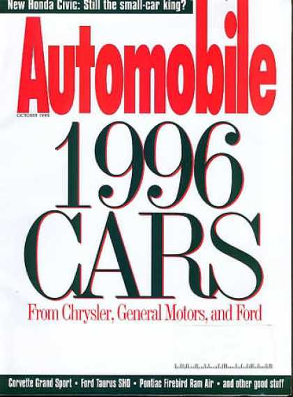 Automobile - October 1995