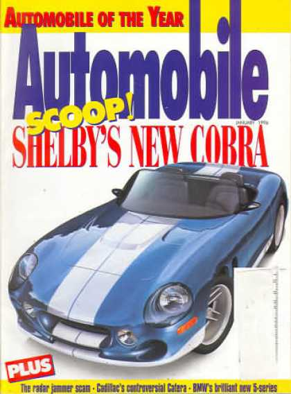 Automobile - January 1996