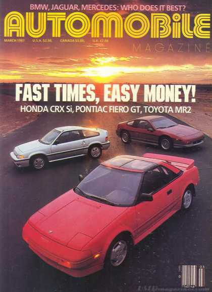 Automobile - March 1987