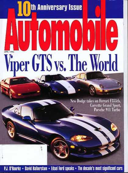 Automobile - April 1996