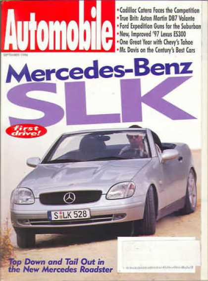 Automobile - September 1996