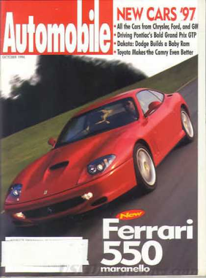 Automobile - October 1996