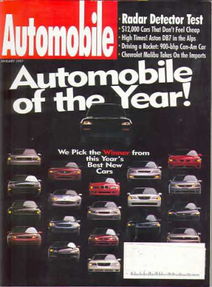 Automobile - January 1997