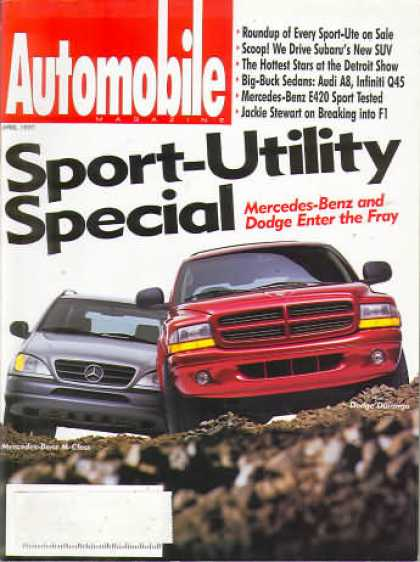 Automobile - April 1997