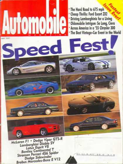 Automobile - May 1997