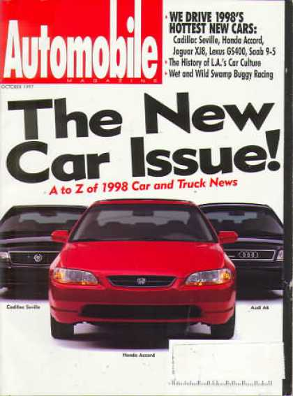 Automobile - October 1997