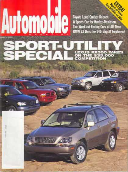 Automobile - March 1998