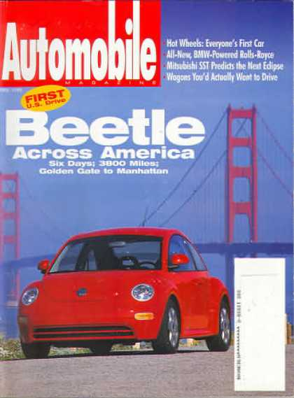 Automobile - April 1998