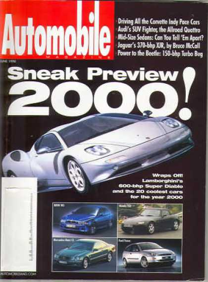 Automobile - June 1998