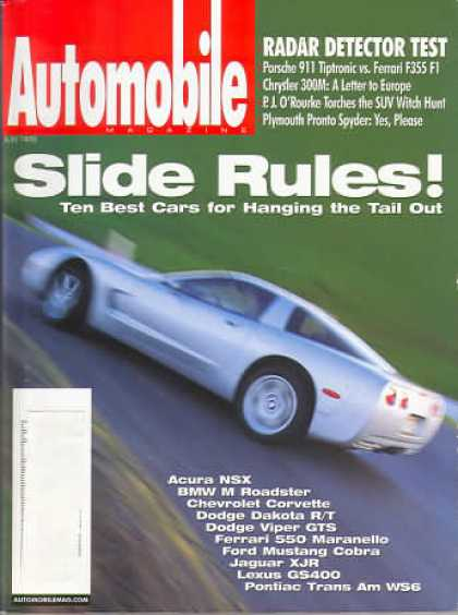 Automobile - July 1998