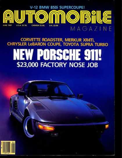 Automobile - June 1987