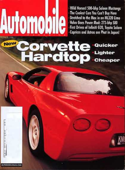 Automobile - September 1998