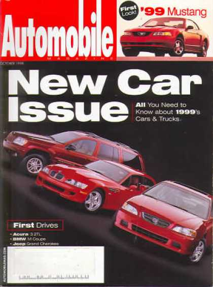 Automobile - October 1998
