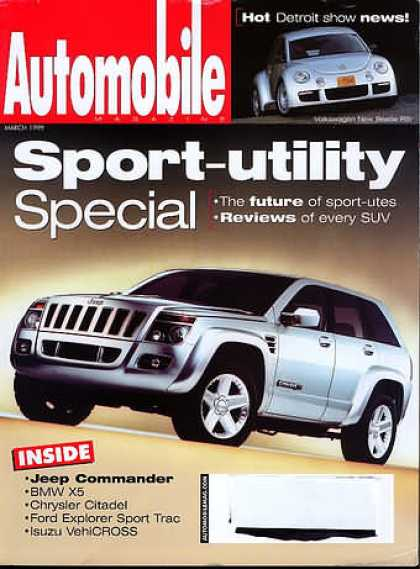 Automobile - March 1999