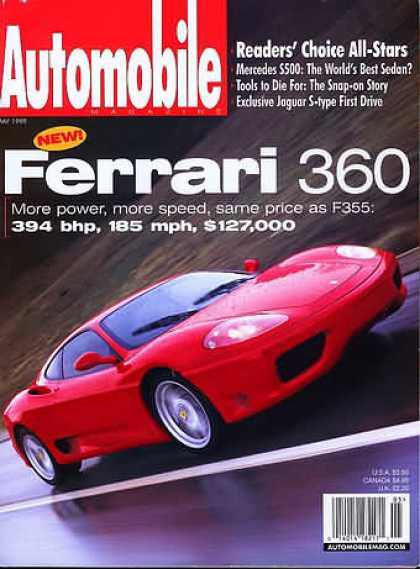 Automobile - May 1999