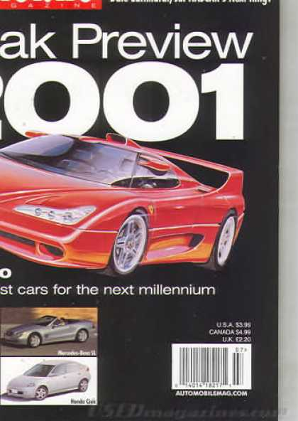 Automobile - July 1999
